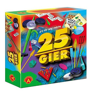 zestaw 25 gier