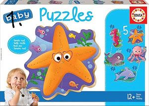 Baby puzzle - prezent na rok