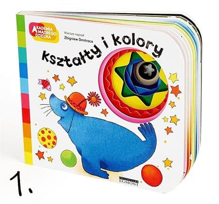 kształty i kolory akademia mądrego dziecka