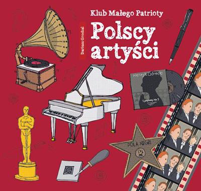 Polscy artyści - książka o sławnych ludziach