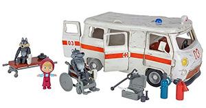 Masza i Niedźwiedź ambulans
