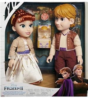 Lalki Anna i Kristoff Frozen 2