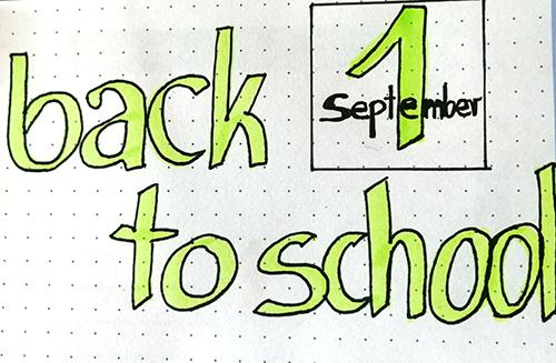 powrót do szkoły 2020