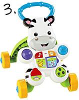 chodzik zebra - pomysł na prezent dla dziecka