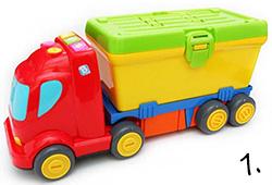 Ciężarówka - prezent na roczek