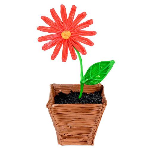 długopis 3d dla dziecka kwiatek