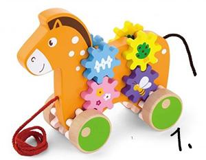 Zabawka do ciągnięcia - prezent na roczek
