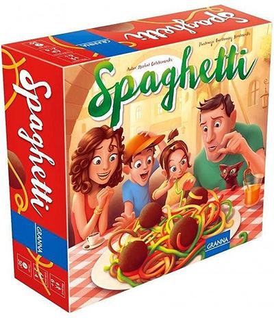 gra zręcznościowa dla 6 latka - spaghetti