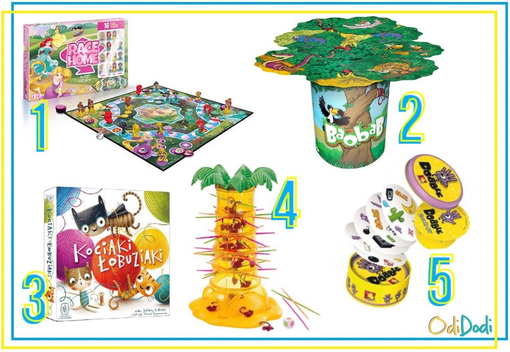 najlepsze gry na prezent dla 5 latków