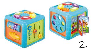 Interaktywna kostka - pomysł na prezent dla dziecka