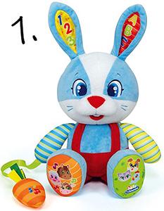 interaktywny królik - pomysł na prezent na roczek