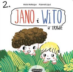 Jano i Wito w trawie - książeczka na roczek