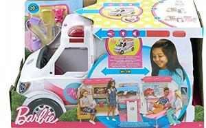 Karetka Barbie - pomysł na prezent pod choinkę