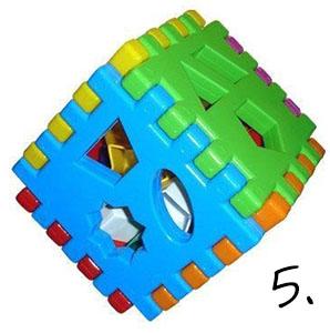 Kostka sorter - prezent na roczek