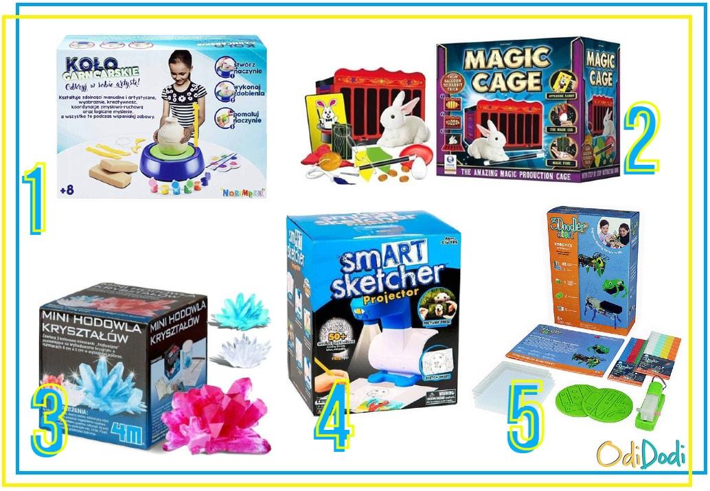 kreatywne pomysły na prezent dla 8 latków