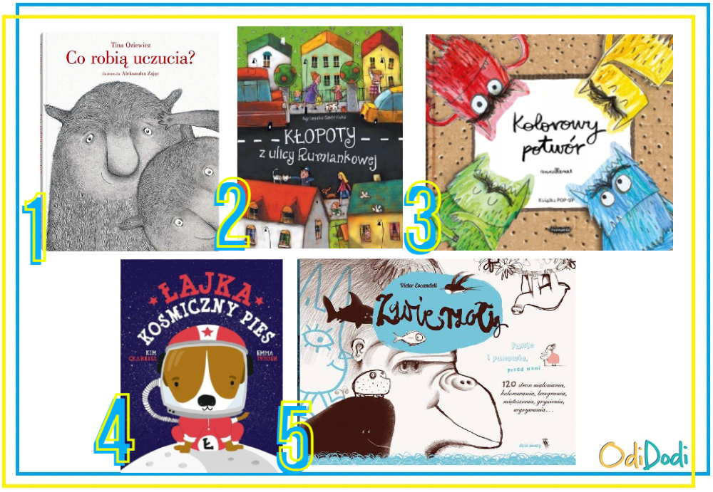 najciekawsze książki dla dzieci w wieku 5 lat