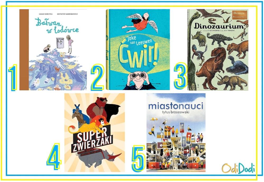 Książki - pomysł na prezent dla 8 latka