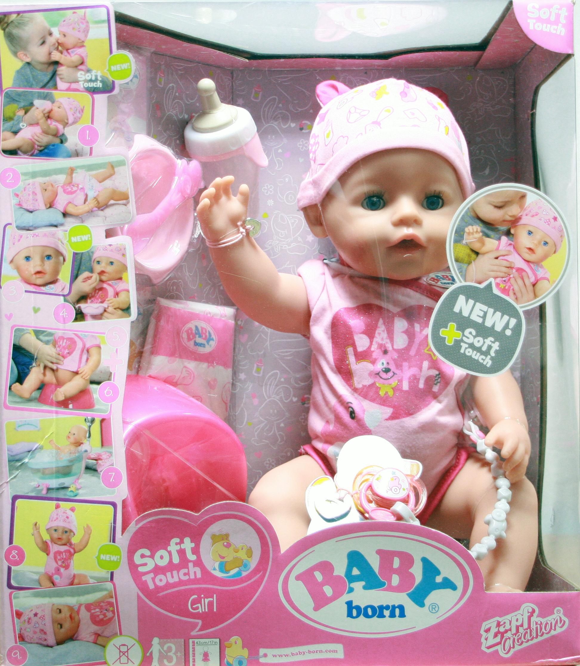 lalka Baby Born w pudełku
