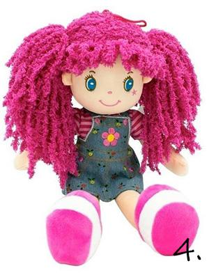 Lalka szmaciana - zabawka na roczek