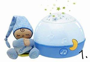 lampka projektor - prezent na roczek dla chłopca