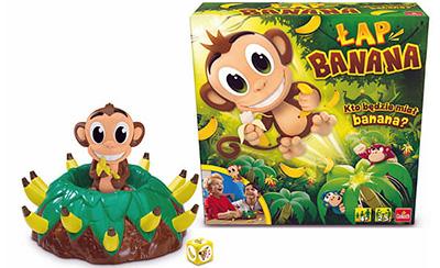 Gra łap banana - pomysł na świąteczny upominek
