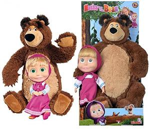 Masza i Niedźwiedź lalka i miś