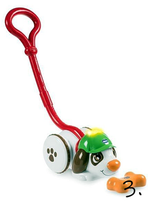 zabawka do pchania - prezent na roczek