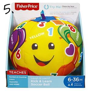 piłka Fisher Price - prezent dla roczniaka