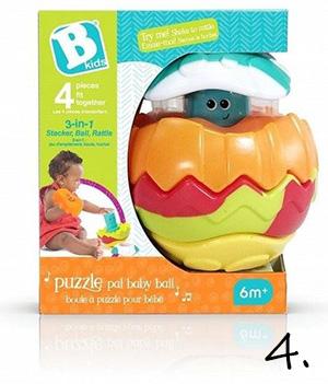 piłka puzzle - prezent dla malucha