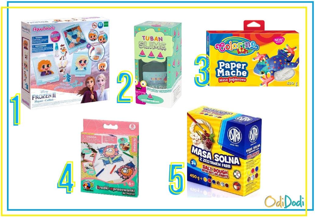 zestawy plastyczne dla dzieci w wieku 8 lat