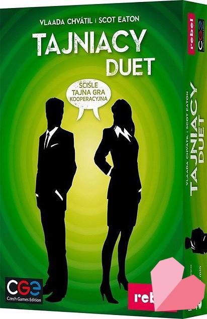 Tajniacy Duet - gra na walentynki