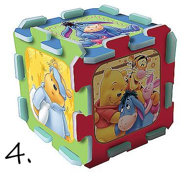 puzzle piankowe kubuś puchatek