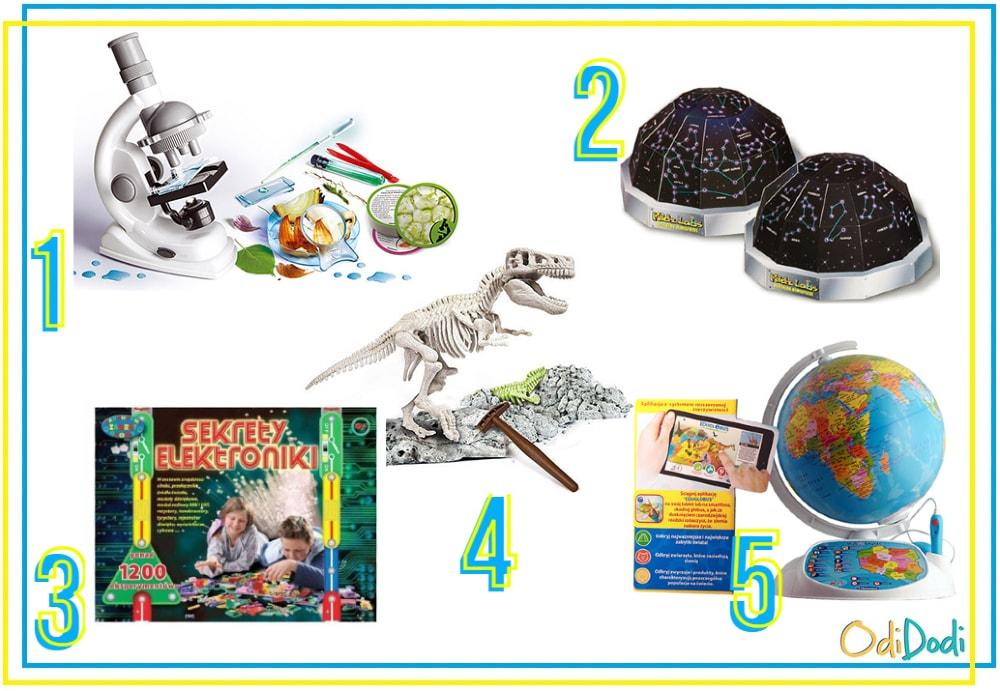 Zabawki edukacyjne dla 8 latków