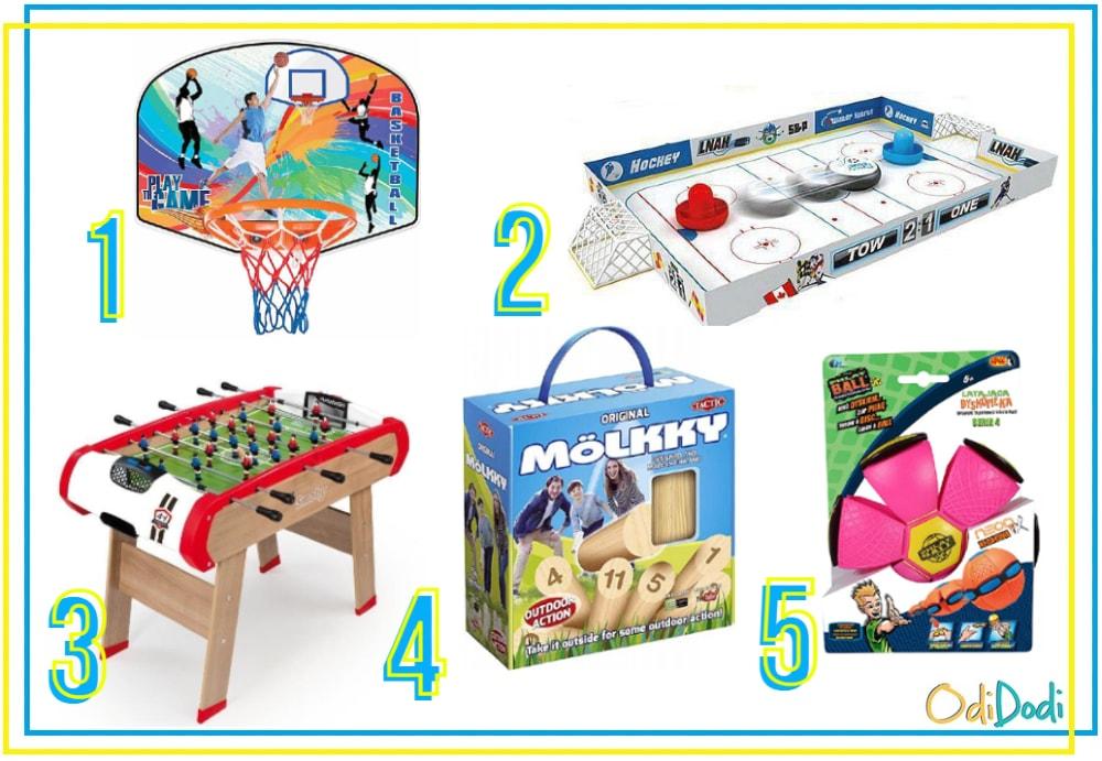 sportowe zabawki dla 5 latka
