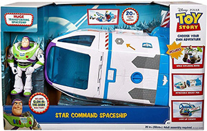 Statek kosmiczny Toy Story 4