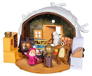 Zimowy domek Masza i Niedźwiedź