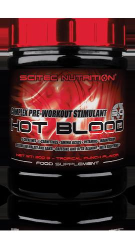 Scitec Nutrition - HOT BLOOD 3.0